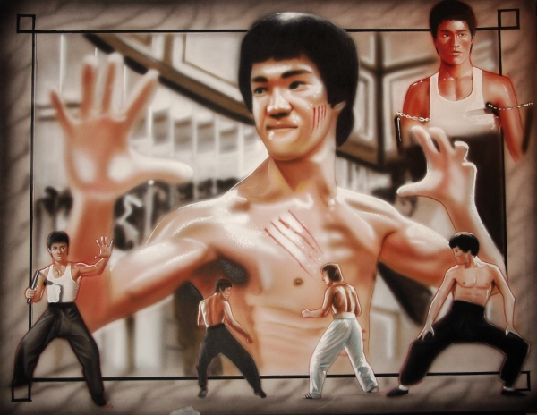 Bruce Lee by stephane014